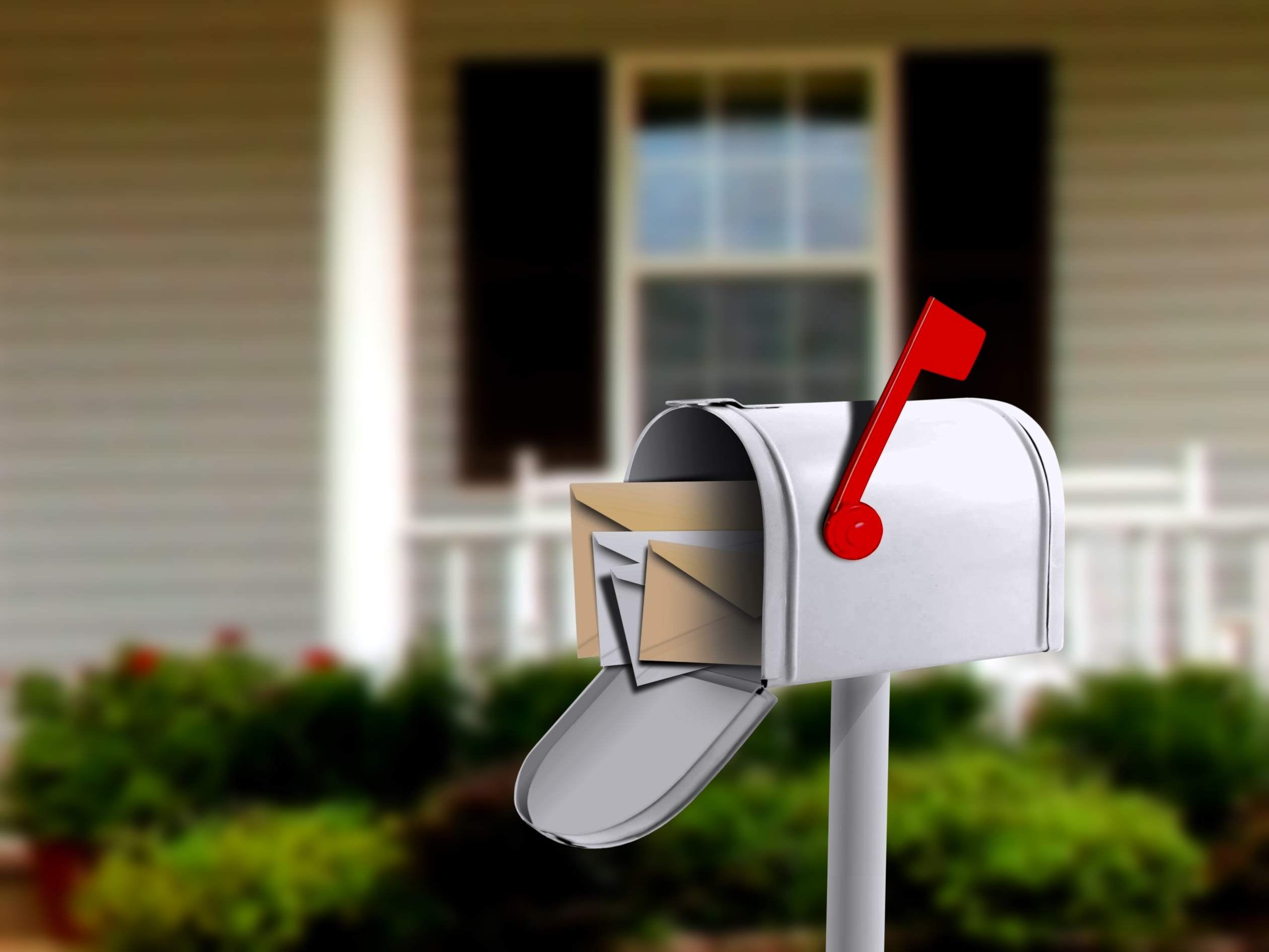 full mailbox. what is direct mail marketing? full mailbox